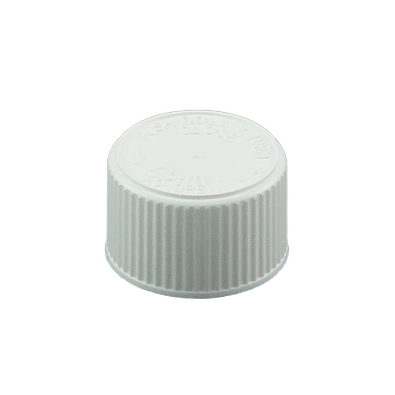 20mm 400 CRC White PP Foil Wadded Screw Cap