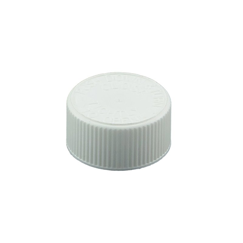 28mm 400 CRC White PP Foil Wadded Screw Cap