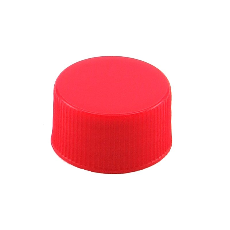28mm 410 Red PP Cello Wadded Screw Cap