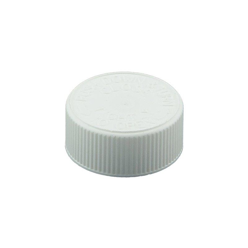 33mm 400 CRC White PP Cello Wadded Screw Cap