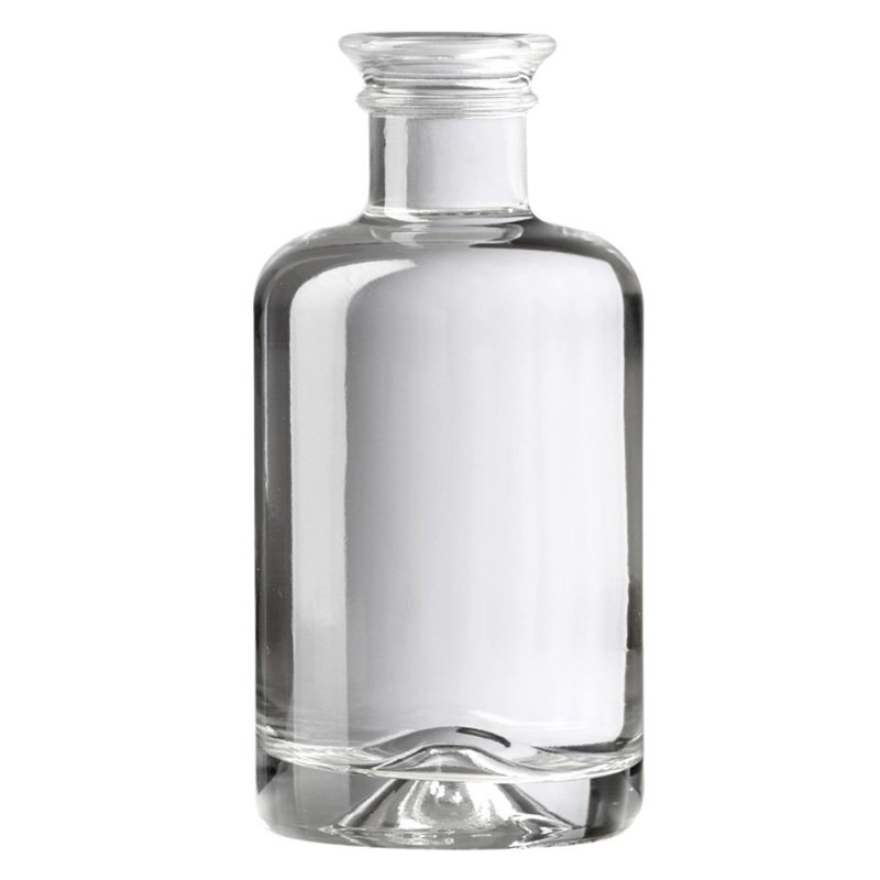 100ml Clear Glass Apotheker Bottle With Cork Neck