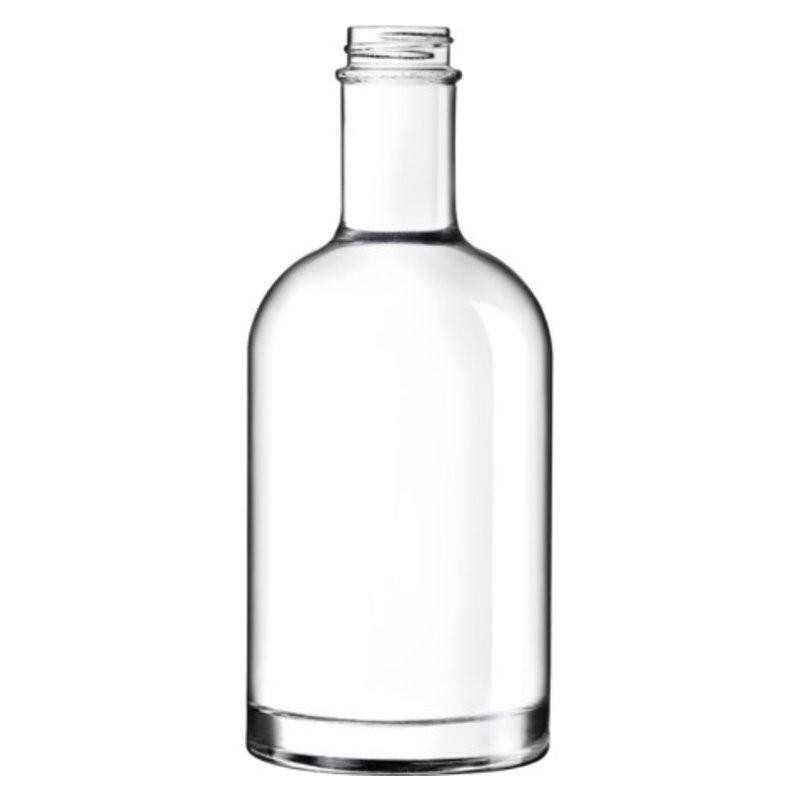 350ml Flint Glass Oslo Bottle With 28mm 400 Screw Neck