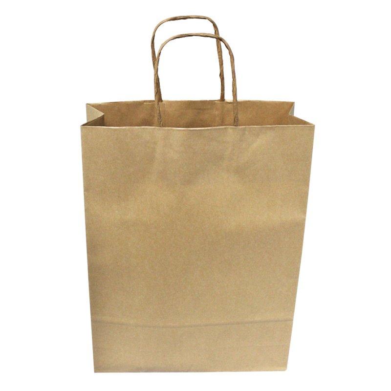 Brown Triple Bottle Carry Bag