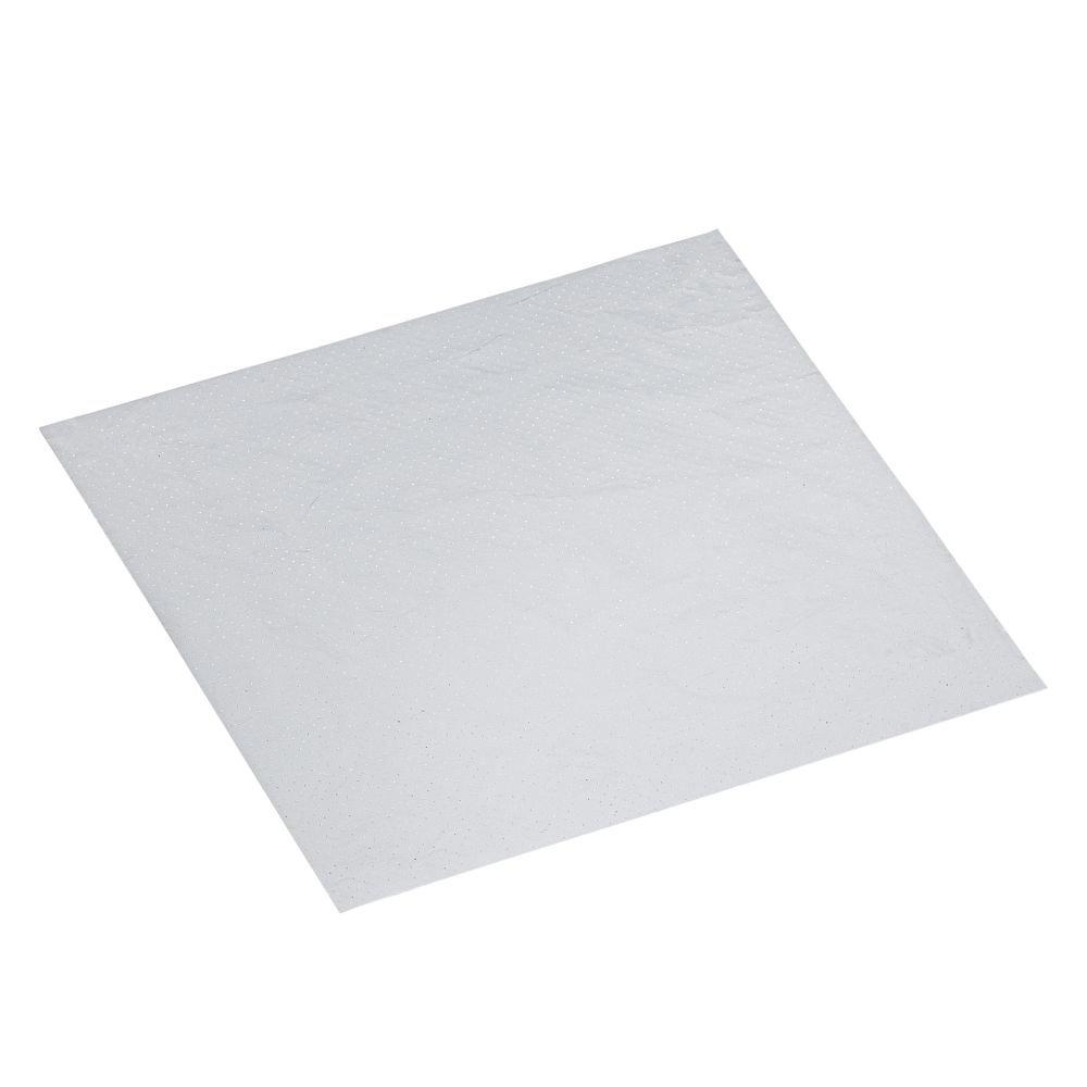 Opaque White / Matt Alum. Kraft Paper 210 X 210mm Cheese Wrap