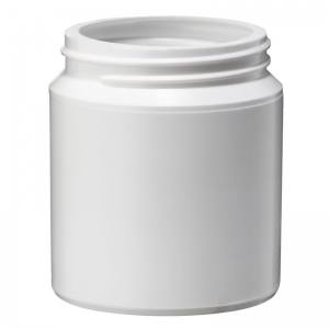 100ml White PP Jar With 53mm 400 Screw Neck