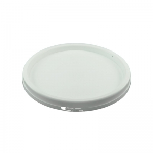 White TE Push On Pail Lid To Suit 10L
