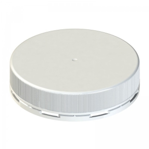 110mm TE White PP Cello Wadded Screw Cap