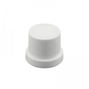 18 DIN TE White Smooth Uni1 Drip Cap