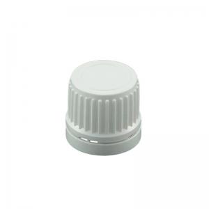18 DIN TE White Ribbed Uni2 Drip Cap