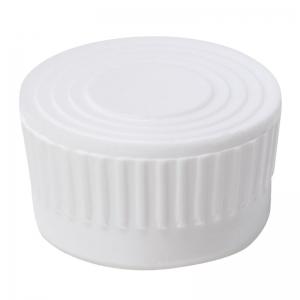 18mm White LDPE Push On Vial Cap