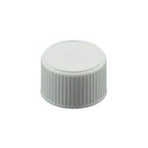 20mm 400 CRC White PP Cello Wadded Screw Cap