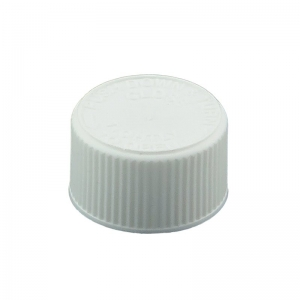 24mm 400 CRC White PP Foil Wadded Screw Cap