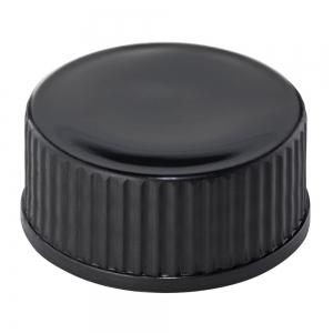 24mm 400 Black PP Screw Cap