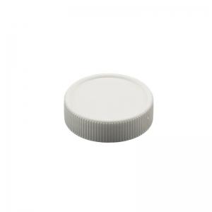 27mm White PP Screw Vial Cap