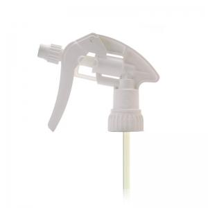 28mm 410 White Screw Adjustable Trigger Spray With 135mm Dip Tube FBOG