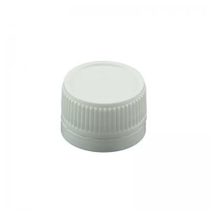 28mm TT White PP Screw Linerless Cap