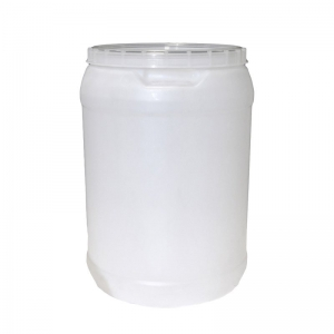 30L Natural HDPE Open Head Drum With Lid