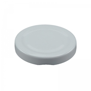 58mm RTO White Metal Twist Cap