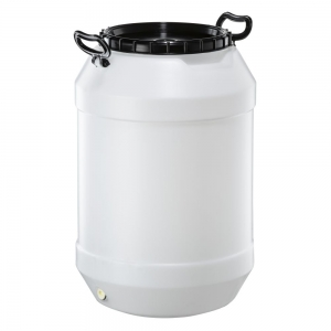 60L Natural HDPE Open Head Drum With Lid