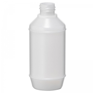 125ml Natural HDPE Barrel Bottle With 22mm 410 Screw Neck