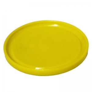 Yellow PP TE Push On Tub Lid