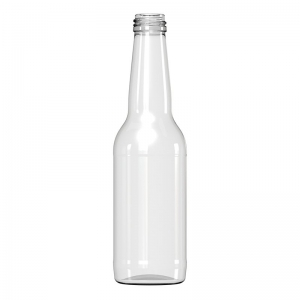 330ml Flint Glass Long Neck Beer Bottle With ROPP Neck