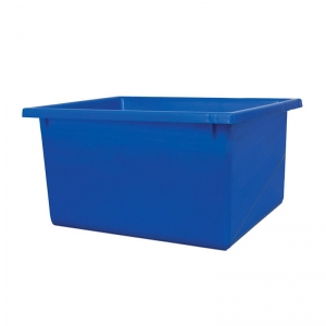 22L Blue Recycled PP Crate 430X323X210mm