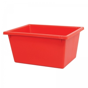 22L Black Recycled PP Crate 430X323X210mm