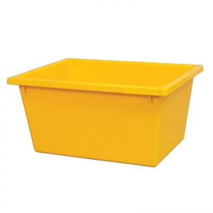 22L Yellow Recycled PP Crate 430X323X210mm