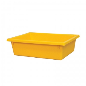 13L Yellow Recycled PP Crate 430X323X127mm