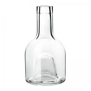 250ml Flint Glass Impilabile Superiore Bottle With Cork Neck