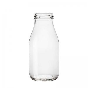 250ml Flint Glass Latte Bottle With 43mm Twist Neck