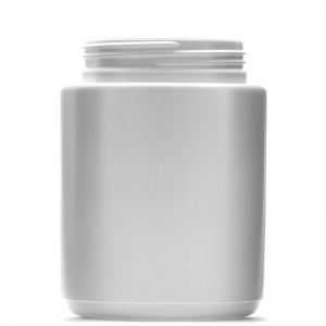 1.5L White HDPE Round Jar With 95mm TVL Screw Neck