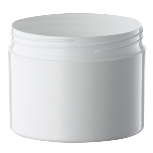 100g White PP Cosmetic Jar With 66mm Screw Neck