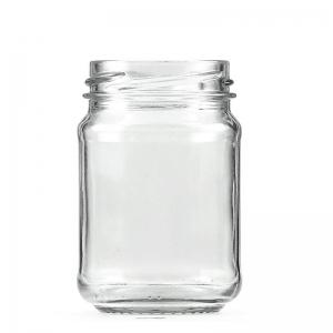 150ml Clear Glass Jar 53mm Twist