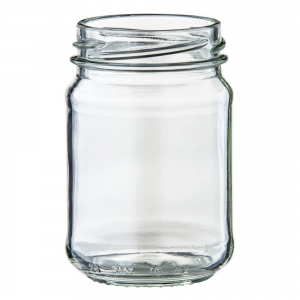 150ml Glass Round Jar With 53mm Twist Neck