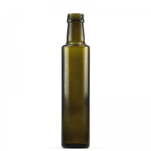 250ml Antique Green Glass Dorica Bottle With 31.5mm ROTE Neck