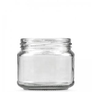 300ml Clear Glass Jar 82mm Twist