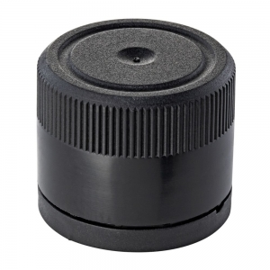 31.5mm Black Olea Cap And Plug