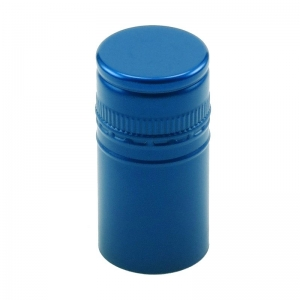 30mm x 60mm BVS Metallic Blue Stelvin Closure