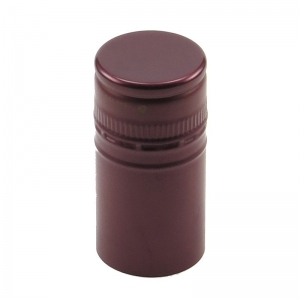 30mm x 60mm BVS Burgundy Stelvin Closure