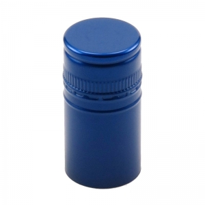 30mm x 60mm BVS Metallic Iridescent Blue Stelvin Closure