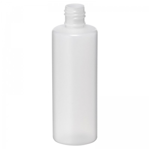 125ml Natural HDPE Round Bottle With 20mm 415 Screw Neck
