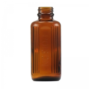 100ml Amber Glass Poison Bottle With 24mm TT Screw Neck