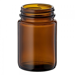 125ml Glass Jar With 48mm 400 Screw Neck