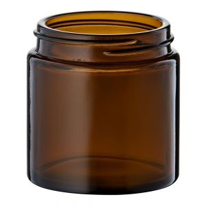 120ml Glass Round Jar With 58mm 400 Screw Neck
