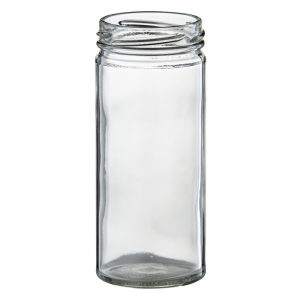 250ml Glass Tall Jar With 58mm Twist Neck
