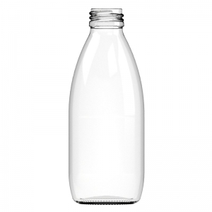 250ml Flint Glass Beverage Bottle With 28mm ROTE Neck