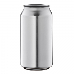 375ml Silver Aluminium Classic Can