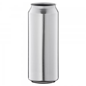 500ml Silver Aluminium Classic Can